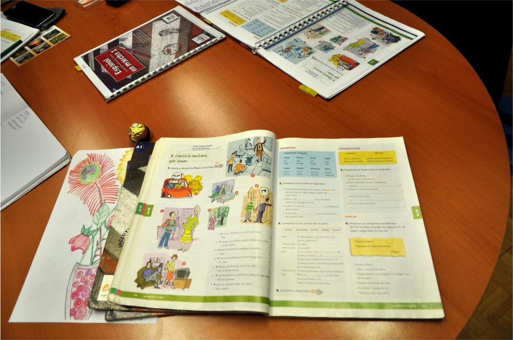 Na UTŽO se učimo španščine