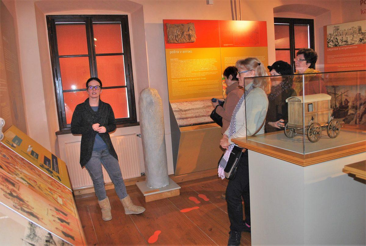 V Muzeju pošte in telekomunikacij