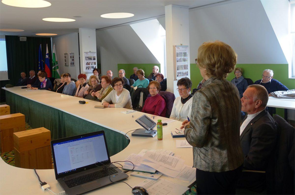 Občni zbor Društva Univerza za tretje življenjsko obdobje Ivančna Gorica